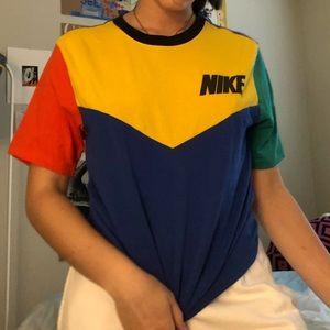 Nike Color Block Tee